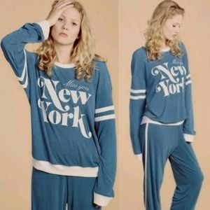 Wildfox Miss You New York Sweater